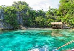 Twin Lagoon Coron Town | Busuanga and Coron: Skeleton Wreck, Twin Lagoon and Barracuda Lake ...