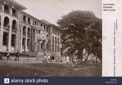 Barrydale Cellar Barrydale | Law Courts, Freetown, Sierra Leone, West Africa Stock Photo ...