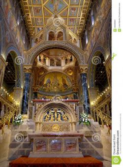 Basilica of St Peter Pécs | Interior Of St. Peter And St. Paul Basilica In Pecs Hungary ...