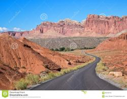Batiquitos Lagoon Carlsbad | Scenic Drive, Capitol Reef National Park Stock Photo - Image: 60918710