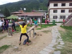 Bhutan Thailand Friendship Park Thimphu   From Down Under to the Top of the World: A Week in Thimphu - With Kids