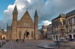 Binnenhof and the Ridderzaal The Hague | Ridderzaal, Binnenhof Square, The Hague, The Netherlands « URBAN ...