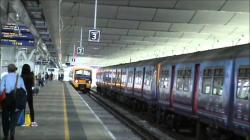 Blackfriars Abbey The Southeast | Southeastern 465 039 at London Blackfriars - YouTube