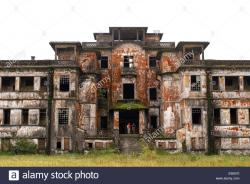 Bokor National Park Bokor Hill Station | Abandoned church of the former hill station built by the French in ...