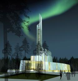 Bomuldsfabriken Kunsthall Arendal | Opening of the Northern Lights Cathedral in Alta ...