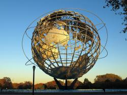 Boroughs of the Dead New York City | Unisphere Globe, Flushing Meadows Corona Park, Queens NYC | Flickr