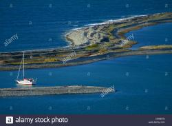 Boulder Bank Upper South Island and the West Coast | Yacht Haven Stock Photos & Yacht Haven Stock Images - Alamy