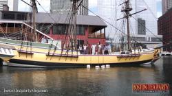 Brewer Fountain Boston   Boston Tea Party Museum- The Museum Experience - YouTube