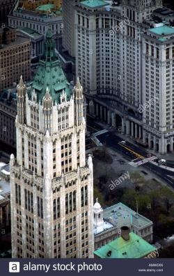 Brill Building New York City | Woolworth Building, New York City, 1913. Exterior. Architect: Cass ...
