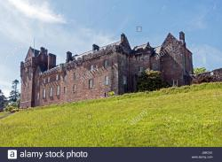 Brodick Castle and Country Park Argyll and the Isles | Brodick Castle Garden and Country Park above Brodick Bay on ...