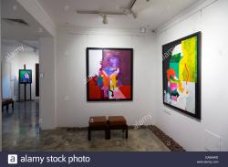 Busaad Art Gallery Muharraq Island | Busaad Art Gallery, al-Muharraq, Bahrain Stock Photo, Royalty Free ...