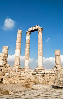 Byzantine Basilica Amman | Amman's historic Citadel // In pictures | Temple, Explore and ...