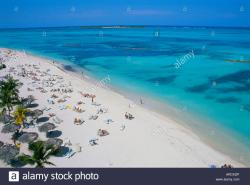 Cable Beach Nassau | Cable Beach, Nassau, Bahamas, West Indies, Central America Stock ...