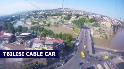 Cable Car Tbilisi   Tbilisi cable car from Narikala fortress above old town - YouTube