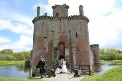 Caerlaverock Castle Caerlaverock | Caerlaverock Castle - not a bad backdrop for your wedding photos ...