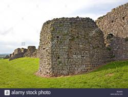 Caerwent Roman Town South Wales | Tower in south wall of Roman town wall Caerwent Wales UK Stock ...