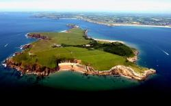 Caldey Island South Wales | Father commits 'crime of the century' after disciplining son ...