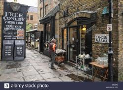 Camden Passage London | Camden Passage in Islington, London Stock Photo, Royalty Free ...