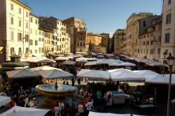 Campo de' Fiori Rome | Our neighborhood | UW Rome Center