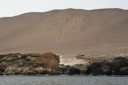 Candelabra Geoglyph Paracas (El Chaco) | The World's Best Photos of geoglyph and paracas - Flickr Hive Mind