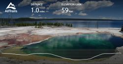 Canyon Visitor Center Yellowstone National Park   West Thumb Geyser Basin Trail - Wyoming   Maps, 156 Photos, 79 ...