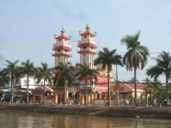 Cao Dai Temple (Sa Dec) Mekong Delta | Here, There and an Attempt on Everywhere: A Sampan through the ...