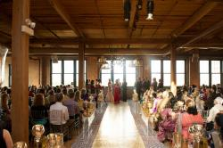 Carbide and Carbon Building (Hard Rock Hotel) Chicago | The ceremony at the Bridgeport Art Center #weddings #theceremony ...