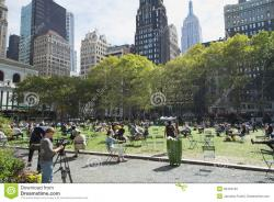 Carl Schurz Park New York City | Siesta At Bryant Park (Midtown Manhattan, New York City) Editorial ...