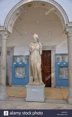 Carthage Museum Tunis | Imperatrice Romaine statue from Carthage, The Bardo National ...