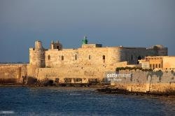 Castello Maniace Sicily | Italy Sicily Siracusa Castello Maniace Stock Photo | Getty Images