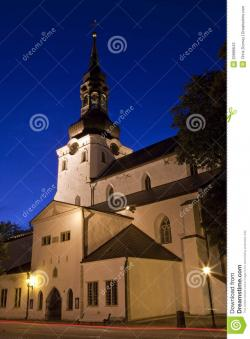 Cathedral of St. Mary the Virgin in Talinn Tallinn | Cathedral Of St. Mary The Virgin, Tallinn Stock Photos - Image ...