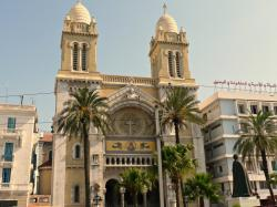 Cathedral of St Vincent de Paul Tunis | Panoramio - Photo of Cathedral of St. Vincent de Paul, Tunis, Tunisia