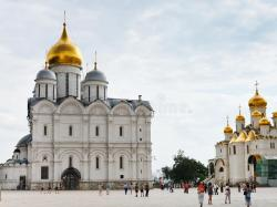 Cathedral Square Moscow | Cathedral Square Of Moscow Kremlin Editorial Stock Image - Image ...