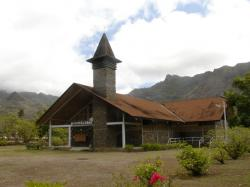 Catholic Church Hakahau | marquesas islands