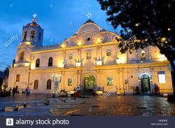 Cebu Cathedral Cebu City | Cebu Metropolitan Cathedral, Cebu City, Philippines Stock Photo ...