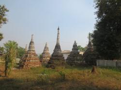 Central Pagoda Hsipaw | Trekking in Hsipaw, Myanmar | Merrilee's Adventure travel in Asia