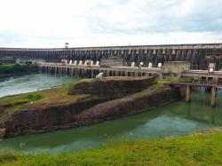 Centro Hidroeléctrico de Itaipú Southern Paraguay | 1214 best Hydroelectric Power Plants and Electric Company Power ...