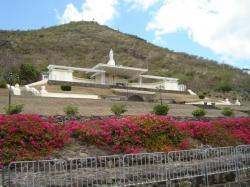 Chapel and Shrine of Marie Reine de la Paix Port Louis | Panoramio - Photo of Marie Reine de la Paix and Signal hill, Port ...