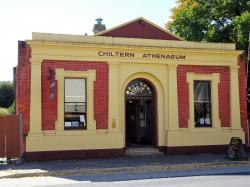 Chiltern Athenaeum Chiltern | Chiltern old gold rush town. The Athenaeum or Library. Bui… | Flickr