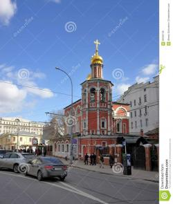 Church of All-Saints in Kulishki Moscow | All Saints Church In Kulishki In Moscow Editorial Image - Image ...