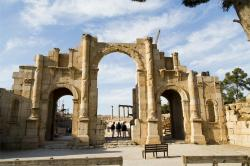 Vaulted Gallery Jerash | Jerash | Places to visit in Jerash, Jordan