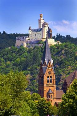 Church of St. Ulrich The Pfalz and Rhine Terrace | 321 best Germany images on Pinterest | Travel, Beautiful places ...