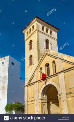 Church of the Assumption El Jadida | Church of the Assumption in the Portuguese City of Mazagan at ...