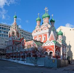 Church of the Trinity in Nikitniki Moscow | Panoramio - Photo of Church of The Trinity in Nikitniki / Moscow ...