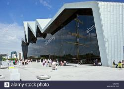 Clyde Historical Museums Clyde | Newly built Riverside Museum on the River Clyde in Glasgow ...
