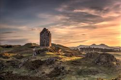 Smailholm Tower The Borders and the Southwest   Smailholm Tower Sunset - Sunset Taken At Smailholm Tower Scottish ...