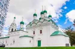 Cook Street Moscow | The Church of St. Simeon on Cook Street. Moscow — Stock Photo ...
