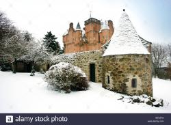 Craigievar Castle Aberdeen and the Northeast | A winter scenic image of Craigievar Castle near Aberdeen in the ...