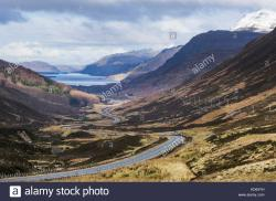 Destitution Road The Northern Highlands and the Western Isles | A832 Stock Photos & A832 Stock Images - Alamy