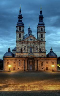 Dom zu Fulda The Fairy-Tale Road | Downs Barracks, Fulda, Germany | Places I've been... | Pinterest ...